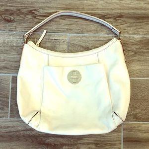 Kate Spade Large cream colored Leather bag